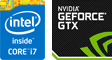 第4世代 Intel Core i7、NVIDIA GeForce GTX